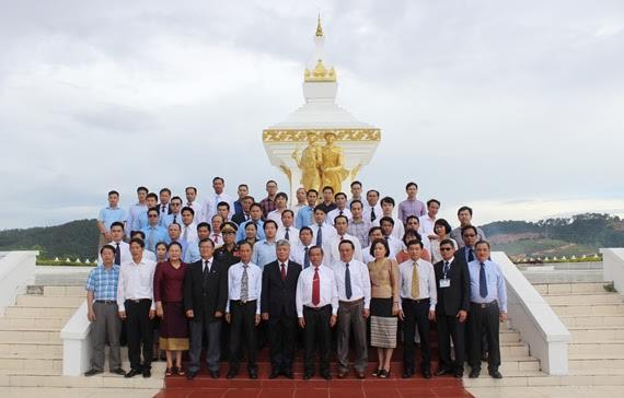 Lễ mít tinh chào mừng 'Năm Đoàn kết Hữu nghị Việt Nam - Lào 2017'