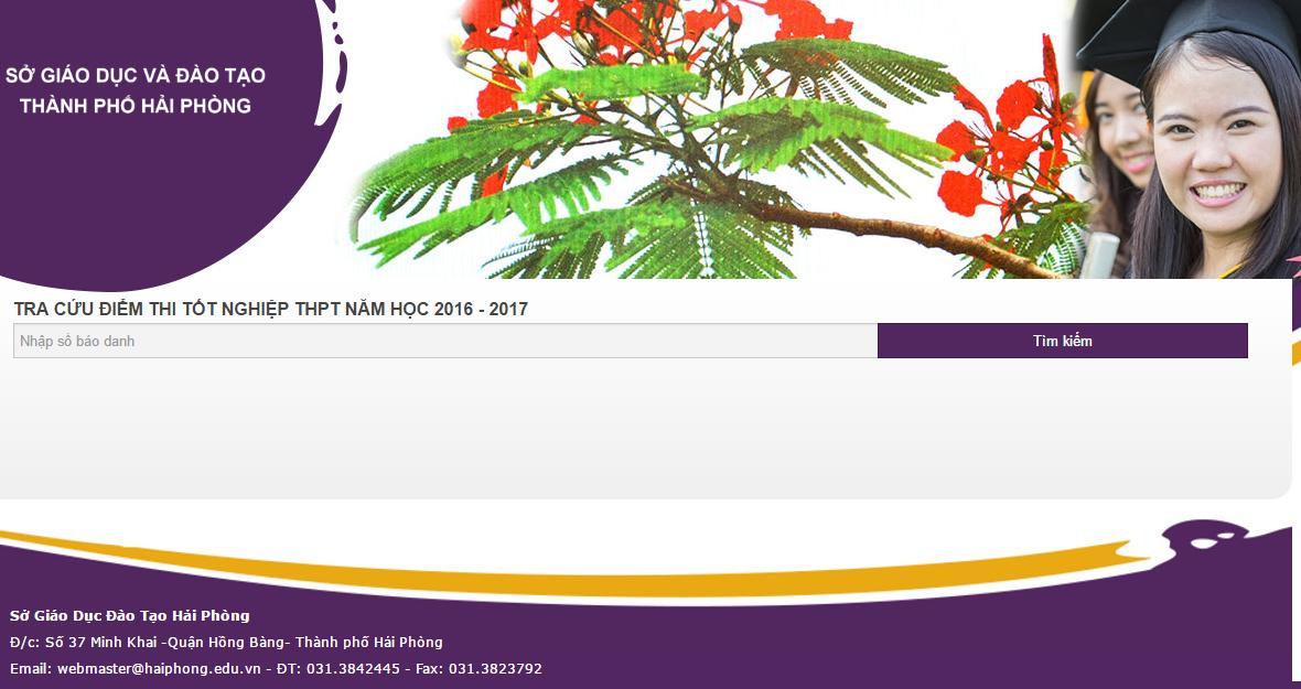 Hải Phòng, TP. HCM, Lai Châu công bố địa chỉ tra cứu điểm thi THPT quốc gia