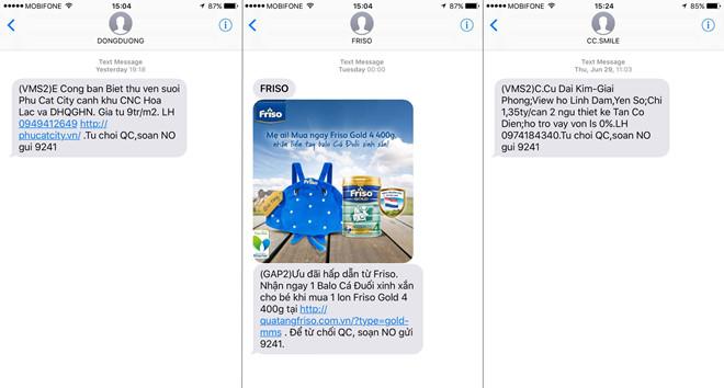 Thoát tin nhắn SIM rác, nhà mạng lại bị 'tố' làm phiền người dùng