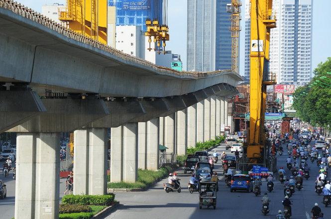 Một doanh nghiệp nhà nước TQ muốn 'rót' vốn vào dự án đường trên cao, tàu điện ngầm của VN