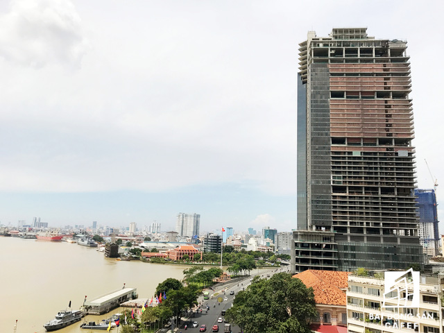 Cao ốc Saigon One Tower nợ 7.000 tỷ vừa bị thu giữ tài sản