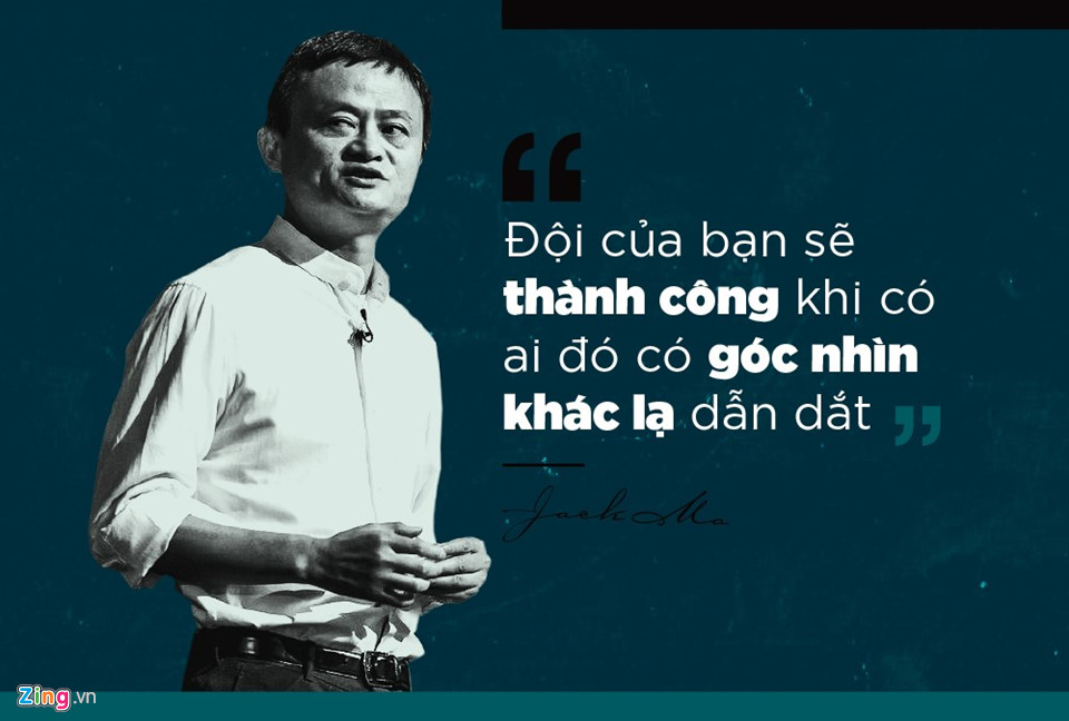 Góc nhìn khác lạ của Jack Ma đã đưa Alibaba thành gã khổng lồ thương mại điện tử nhờ những quyết định đi trước thời đại.