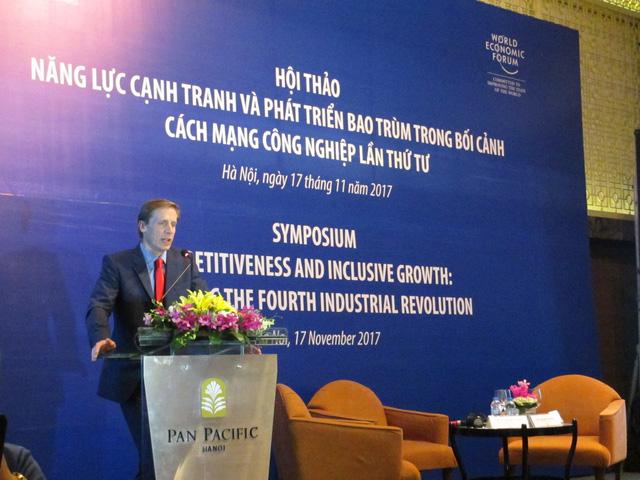 PTT Vương Đình Huệ chỉ ra 4 thách thức về năng lực cạnh tranh và phát triển của CMCN 4.0