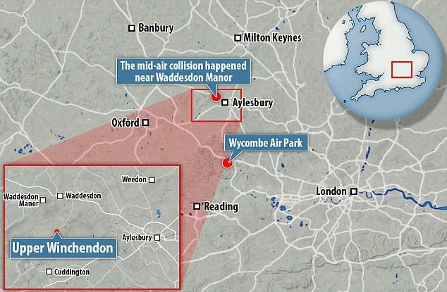 Hai máy va chạm nhau trên không ở Anh, 4 người thiệt mạng