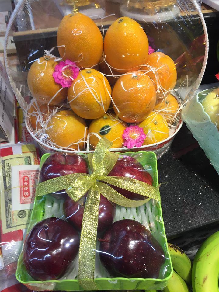 Tết Mậu Tuất: Trái cây nhập khẩu, nông sản sạch vào giỏ quà tết hút người dùng