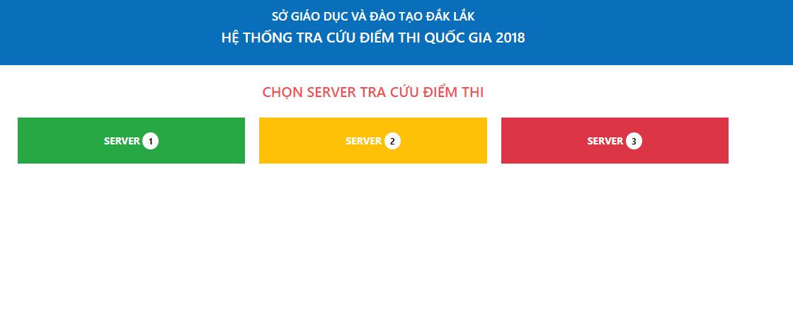 Tra cứu điểm thi THPT quốc gia tỉnh Đắk Lắk năm 2018 nhanh và chính xác nhất