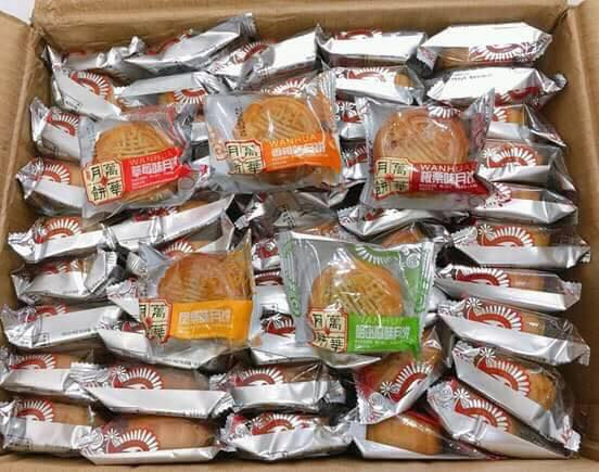 Giật mình: Bánh trung thu Trung Quốc siêu rẻ, không nhãn mác ngập tràn chợ online