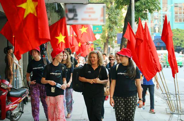 Dịp Quốc khánh 2/9: Lượng khách quốc tế đến Hà Nội tăng 16%