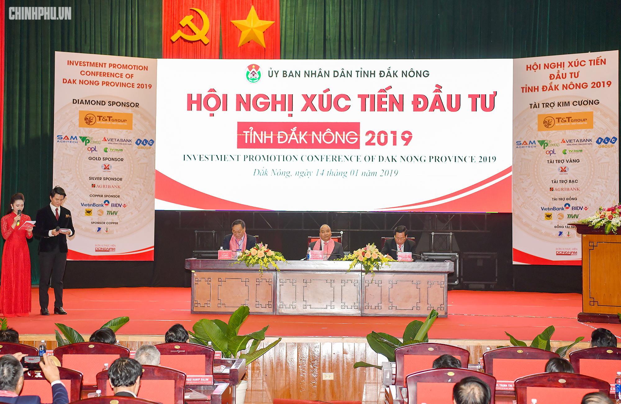 Thủ tướng: Thời gian tới Đắk Nông cần đầu tư quy hoạch phát triển đô thị