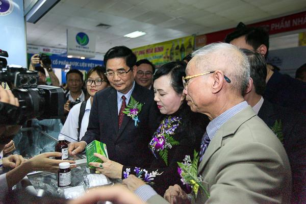 Đa dạng sản phẩm tốt cho sức khỏe tại Hội chợ dược liệu và sản phẩm y dược cổ truyền toàn quốc