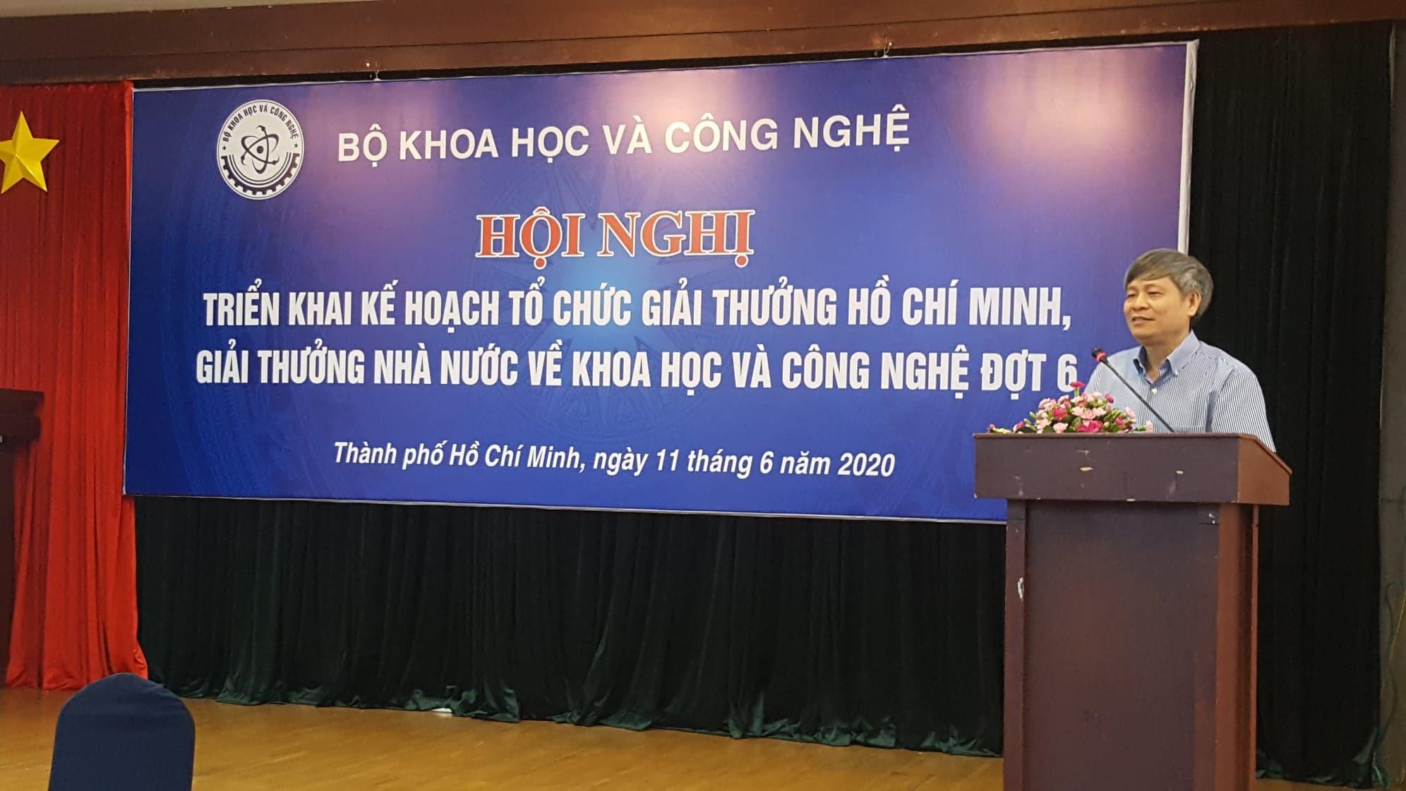 Thứ trưởng Bộ KH&CN Phạm Công Tạc phát biểu tại Hội nghị
