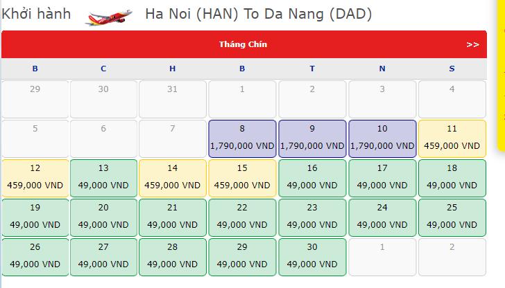 Từ hôm nay, khôi phục các đường bay đến Đà Nẵng