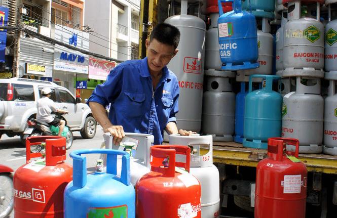 Giá gas tiếp tục tăng mạnh ngày đầu năm mới