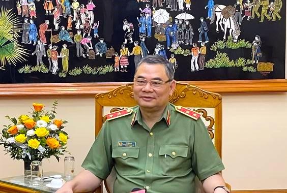 Trung tướng Tô Ân Xô, Chánh Văn phòng Bộ Công an.