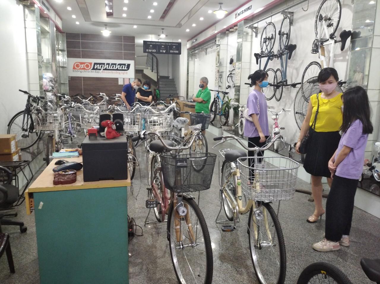 Nhờ dịch bệnh mỗi ngày bán hơn 200 chiếc xe đạpNhờ dịch bệnh mỗi ngày bán hơn 200 chiếc xe đạp