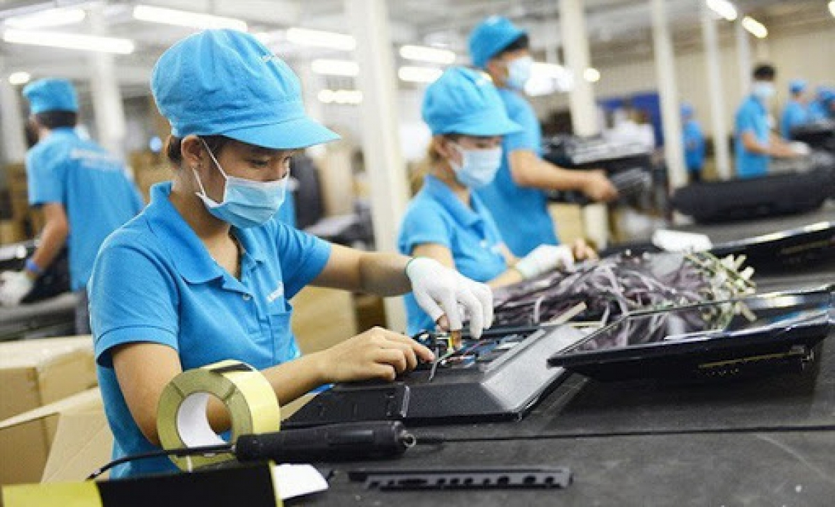 Chỉ số sản xuất công nghiệp tháng 7/2021 tăng 1,8%