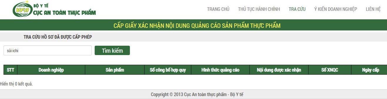 Nghi vấn Viên sủi ICHI chưa được cấp phép đã quảng cáo rầm rộ?