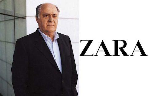 Amancio Ortenga, người sáng lập ra hãng bán lẻ lớn nhất thế giới Zara, sở hữu nhiều khối bất động sản giá trị