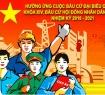 Chào mừng Ngày bầu cử ĐBQH khóa XIV và Đại biểu HĐND các cấp nhiệm kỳ 2016 - 2021
