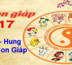 Tử vi 12 con giáp năm Đinh Dậu 2017