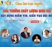 Chào mừng GIẢI THƯỞNG CHẤT LƯỢNG QUỐC GIA