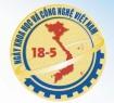 Chào mừng Ngày Khoa học và công nghệ Việt Nam 2018