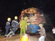 Hiện trường vụ tai nạn tàu hỏa 'xé' đôi xe tải