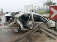 Tin tức tai nạn giao thông mới nhất ngày 24/4: Tàu hỏa đâm bẹp dúm xe 4 chỗ