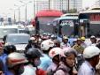 Các ngả đường Thủ đô 'chật cứng' sau kì nghỉ kéo dài