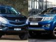 Đọ thiết kế ấn tượng của Mazda BT-50 và Toyota HiLux