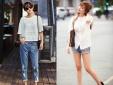 Bí quyết mặc đồ jean mát mẻ trong mùa hè