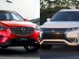Mitsubishi Outlander - Đối thủ mới của Mazda CX-5