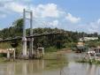 Long An: Cầu 2,5 tỷ mới khánh thành được 12 ngày đã sập