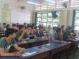 Một điểm có hơn 30 'anh lính' tham gia thi THPT quốc gia