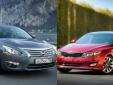 Kia Optima và Nissan Teana đối đầu trong phân khúc D