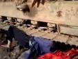 Một phụ nữ bị máy ủi đè bẹp dưới bánh xích