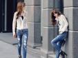 Bí quyết diện quần jean cá tính đón hè thu