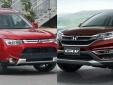 Mitsubishi Outlander và Honda CR-V: Chiến binh đầy triển vọng dòng SUV