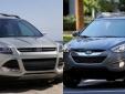 Hyundai Tucson mạnh mẽ đối đầu 'ông lớn' Ford Escape
