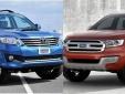 Ford Everest và Toyota Fortuner: Dẫn đầu khả năng vượt địa hình xấu