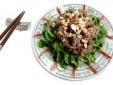 Gỏi rau má thịt bò thơm ngon, giúp đẹp da, giữ dáng
