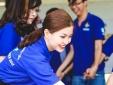 Á hậu Diễm Trang tích cực tham gia chiến dịch Mùa hè xanh 2015