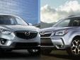 Cuộc đối đầu cân sức giữa Mazda CX-5 và Subaru Forester