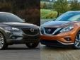 Nissan Murano và Mazda CX-9: Lựa chọn thú vị trong dòng SUV