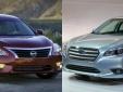 Nissan Altima đọ độ tiết kiệm nhiên liệu với Subaru Legacy
