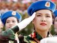 Vì sao nữ quân y trẻ đẹp tham gia diễu binh được mang quân hàm Trung tá?