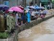Quảng Ninh: Vợ sụt cống mất tích trên đường đi bán thịt cùng chồng