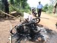 Xôn xao nghi án hai kẻ trộm chó bị đánh chết, đốt xe máy ở Đắk Lắk