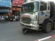 Hà Nội: Xe tải của Công ty Nam Cường cán tử vong người đi xe máy