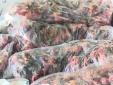 Hàng trăm cân chim én hôi thối đi xe khách từ Nam ra Bắc
